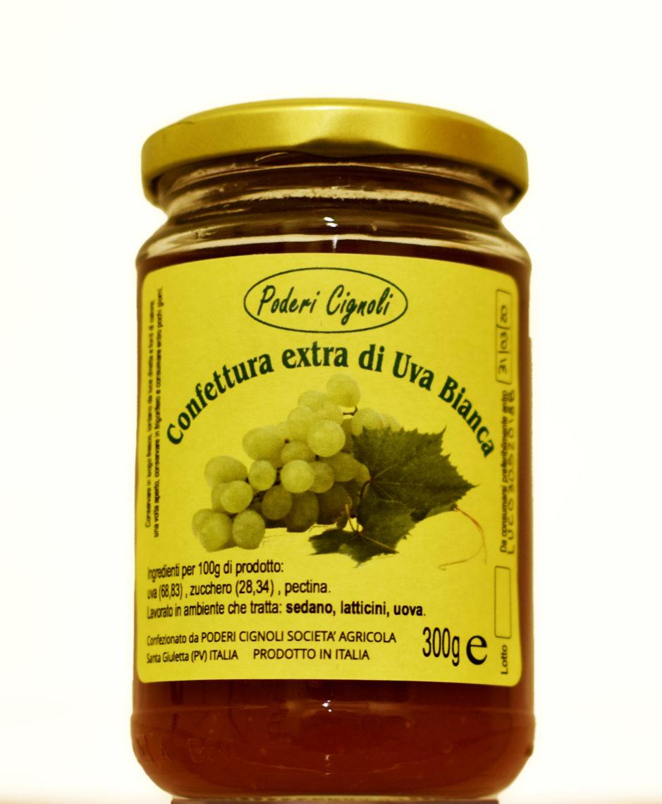 Confettura extra di uva bianca